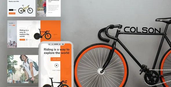 Best Bike WooCommerce Elementor Template Kit