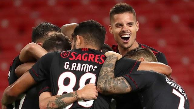 Já há data e hora para os embates entre Benfica e PSV na Champions