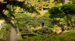 Traditional English Garden maze
