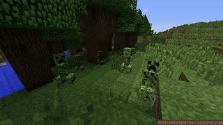 Chameleon Creepers Mod para Minecraft 1.8.9
