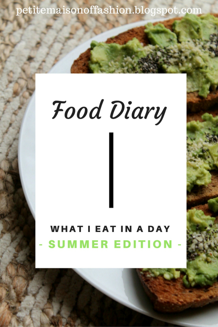 What I Eat in a Day [Summer Edition]