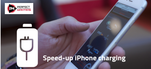 Charge your iPhone faster