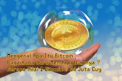 Mengenal Uang Dunia Maya, Digital, Elektronik Bitcoin