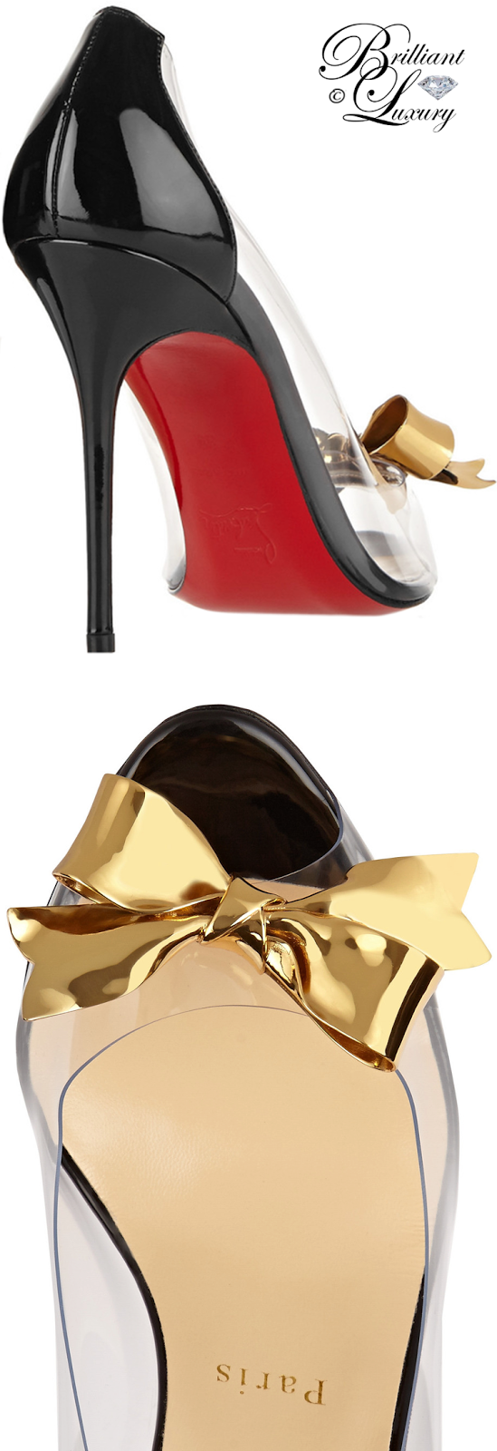 Brilliant Luxury ♦ Christian Louboutin Justinodo Pumps
