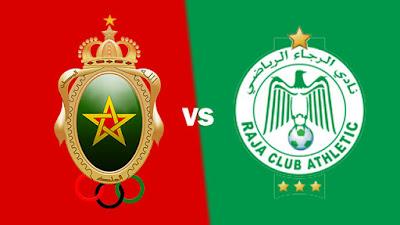 مشاهدة مباراة الرجاء ضد الجيش الملكي 17-2-2021 بث مباشر في الدوري المغربي
