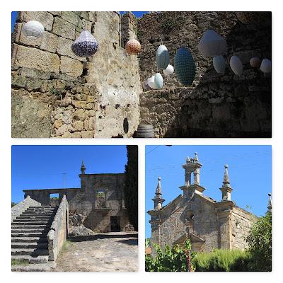 ruinas da antiga casa e da capela da Quinta de Covela