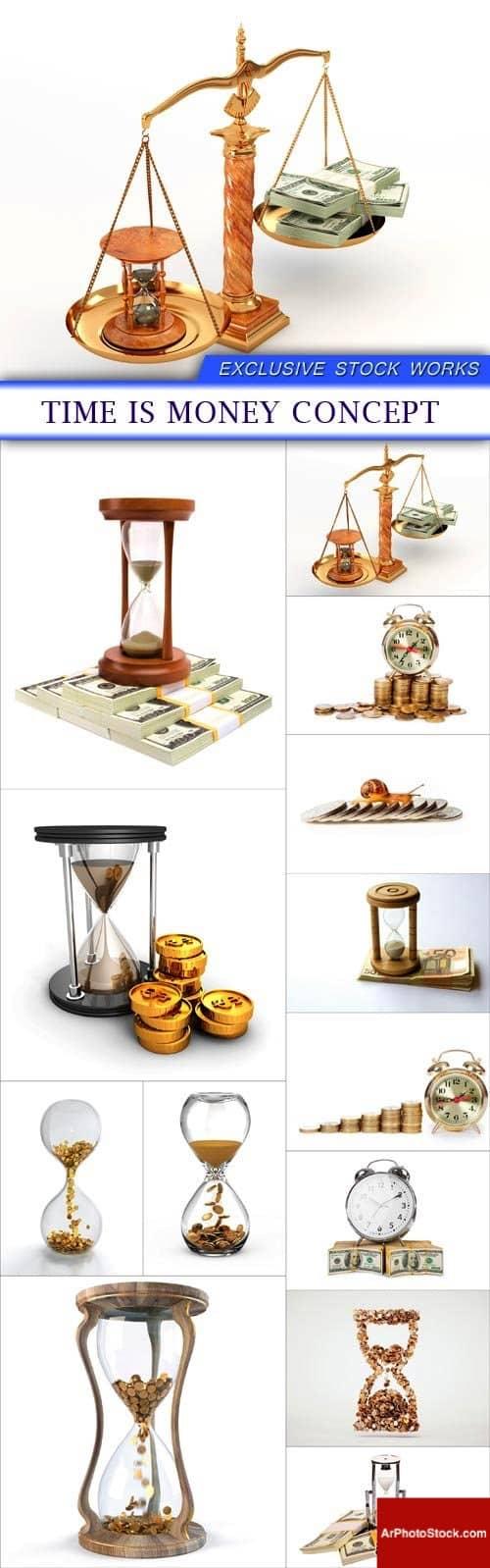 تحميل 13 صورة لمفهوم الوقت هو المال بجودة عالية