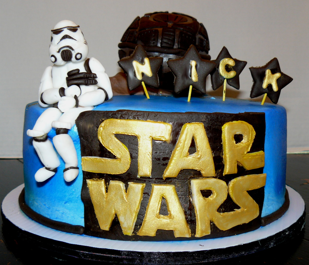 the woodlands cake boutique may the force be with you. Black Bedroom Furniture Sets. Home Design Ideas