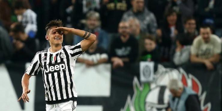 Dybala Bantu Juventus Curi Poin di Kandang Sassuolo