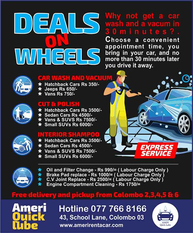 Ameri Quick Lube | Deals on Wheels - Get a car was and vacuume in 30mins.