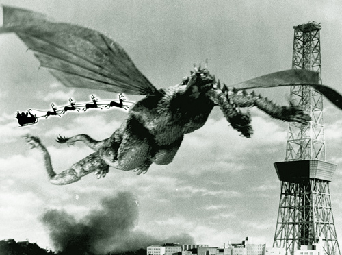 Ghidorah, the Three Headed Monster, 1964
