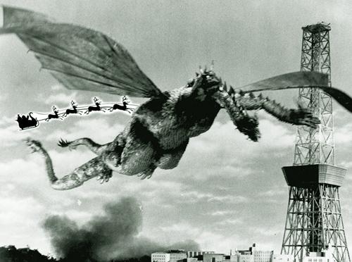 Ghidorah, the Three Headed Monster, 1964