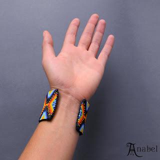 этнический бисерный браслет женский широкий купить бижутерию из бисера этно бохо ру