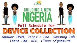 2017 Npower Device Collection Correct Dates and Venues Across Nigeria (2018 Inclusive)