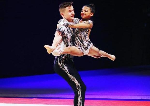 Gymnastic duo in funding appeal to help compete around the world