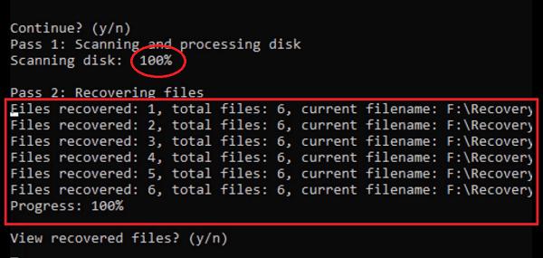 windows file recovery إسترجاع الملفات المحذوفة