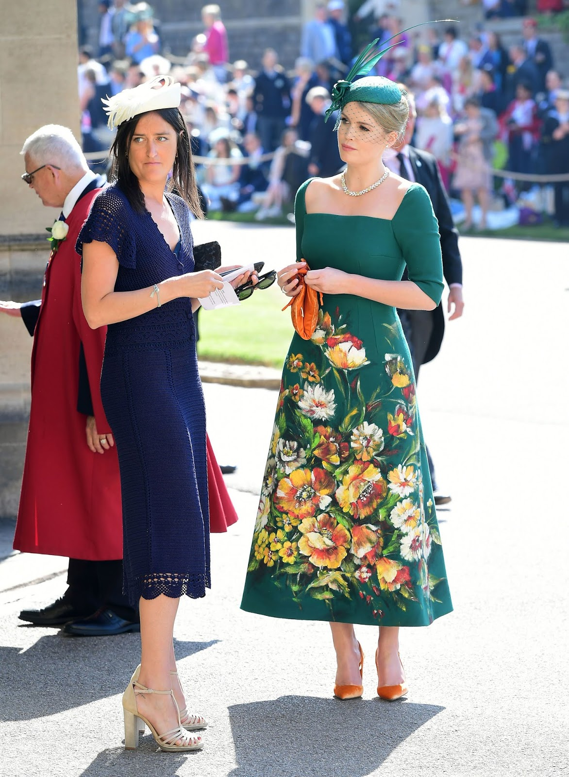 Lady Kitty Spencer (Right)