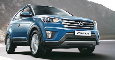 Hyundai Creta 1st Anniversary Edition blue Hd Images