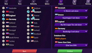 games sepakbola offline football manager mobile
