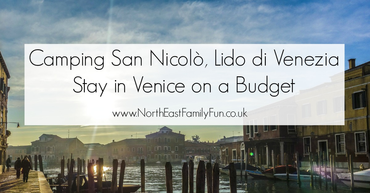 Camping San Nicolò - How to stay in Venice on a budget. The best located  family campsite in the Lido di Venezia area.