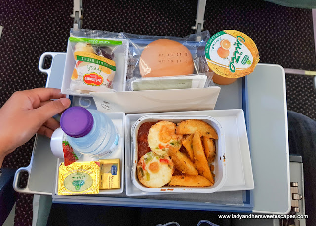 breakfast on board