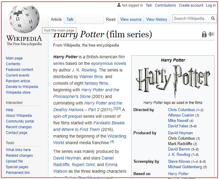 wikipedia linking