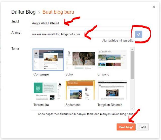 Cara membuat blog dan optimasinya
