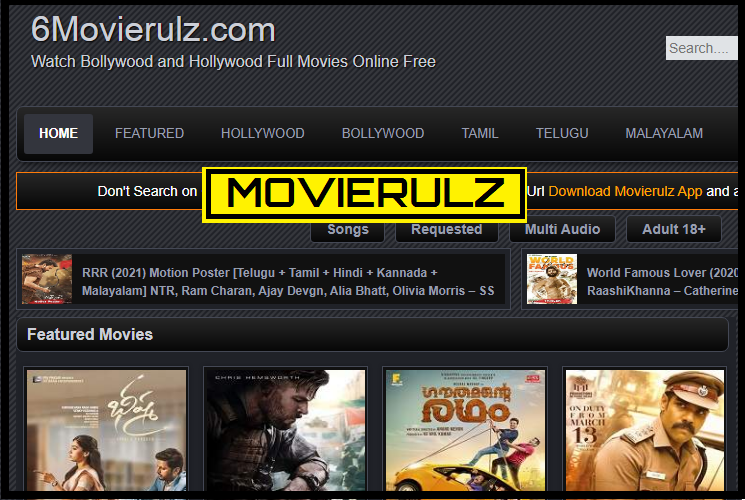 Movierulz Download Watch Latest Bollywood Hollywood Hindi English Telugu Tamil Malayalam Movies Online Free Movierulz Torrent