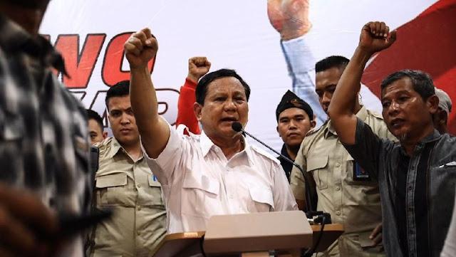 Hard Campaign Prabowo Jelang Pilpres