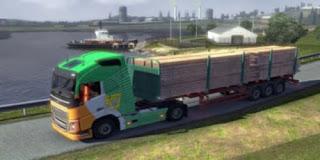 تحميل العاب الشاحنات العملاقه الكبيرة الحقيقية,لنقل السيارات  euro truck simulator