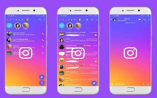 Instagram Theme For YOWhatsApp & Fouad WhatsApp By Leidiane