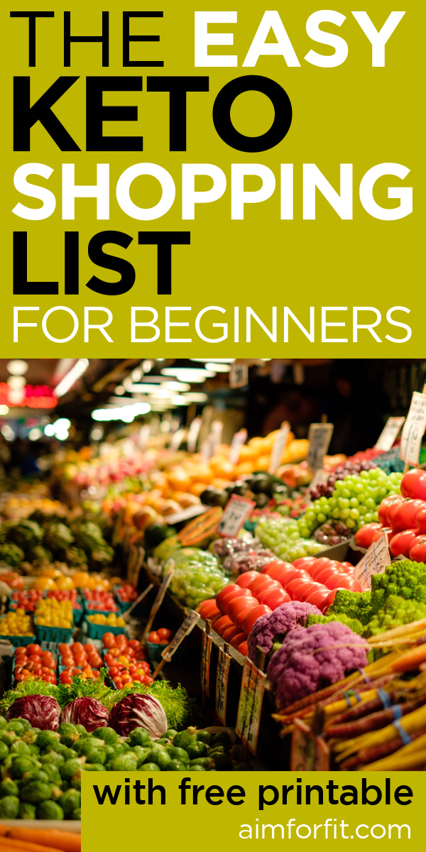 photo about Free Printable Keto Food List identified as Keto Diet plan Food items Record: What In direction of Keep away from And Take in Upon The Keto Diet regime