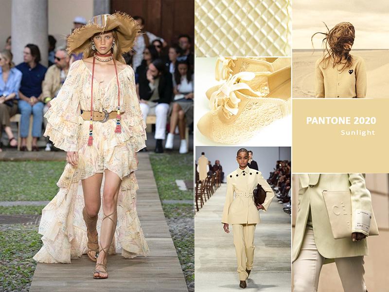 Pantone весна-лето 2020 модные цвета