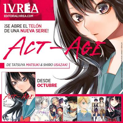 "Ivrea publicará ""ACT-AGE"" de Tatsuya Matsuki y Shiro Usazaki."
