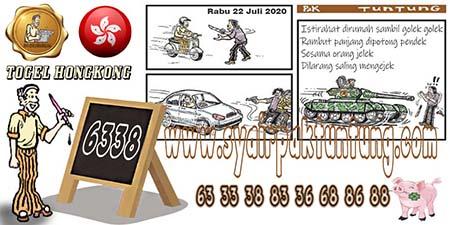 Prediksi Togel Pak Tuntung Hongkong HK Rabu 22 Juli 2020