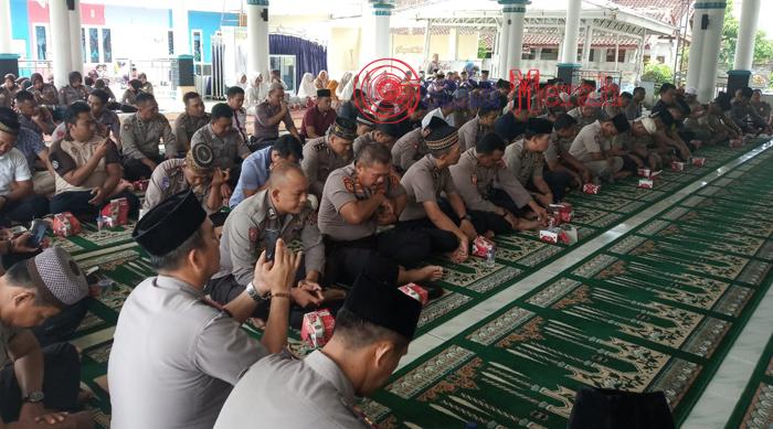 Peringati Maulid Nabi, Kapolres  Lamteng Harapkan Polisi Dapat Teladani Kepemimpinan Nabi
