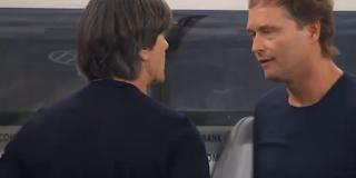 يواكيم لوف فى مباراة ألمانيا وهولندا