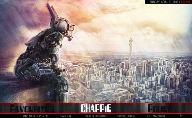 Chappie Build Kodi 18 - Marvel Wizard - New Kodi Addons Builds 2019