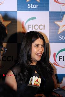 Ekta Kapoor Anurag Kashyap & Ramesh SippyAt at FICCI FRAMES 2017  0128.JPG