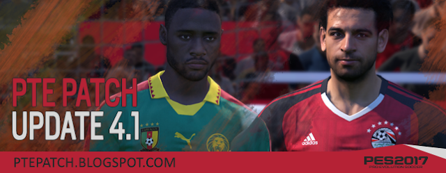 PES 2017 PTE Patch 2017 UPDATE 4.1 - RELEASED 05/02/2017