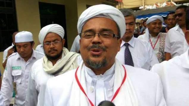 Habib Rizieq Dilaporkan ke Polisi Karena Dianggap Menistakan Agama