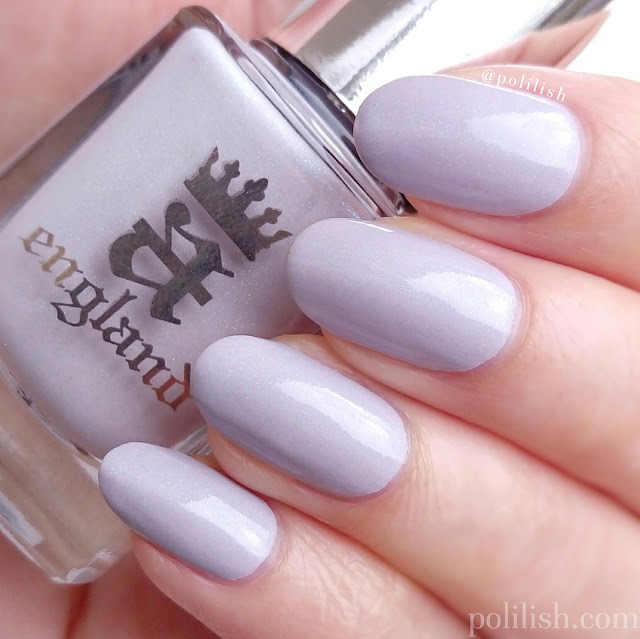 A-england 'Cathy' swatch, two coats   polilish