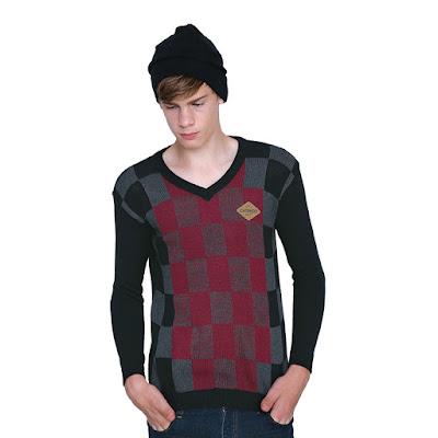 Sweater Rajut Pria ZM 081