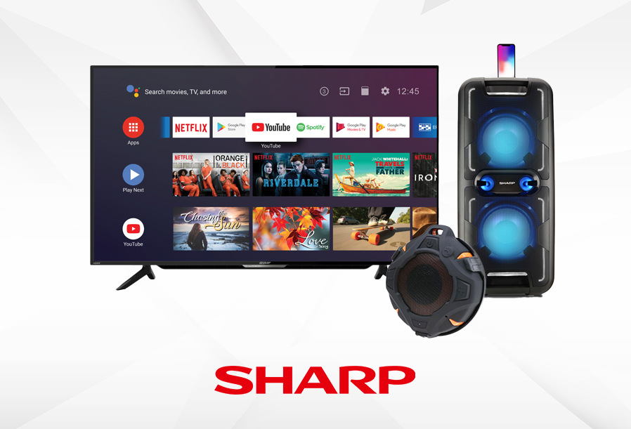 Sharp TVs and Audio Products 2021
