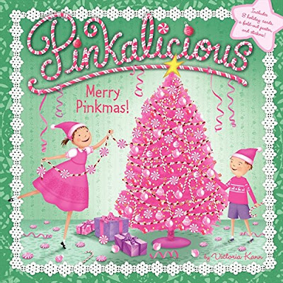 Pinkalicious: Merry Pinkmas, part of Favorite Character Christmas Book Review List for Kids