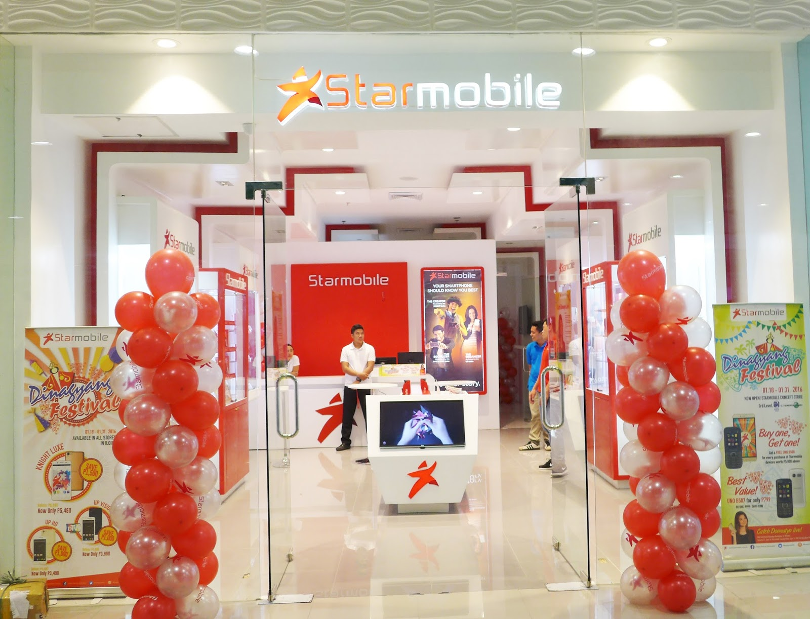 Bright and clean: Starmobile's first concept store in Iloilo