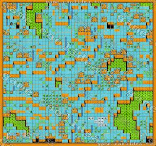 七龍珠Z2 第四章地圖