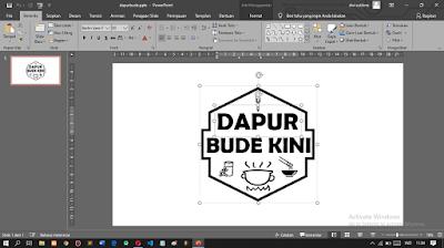 Cara Membuat Logo Dengan PowerPoint Sangat Mudah