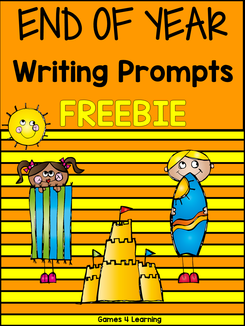 Fun writing activities for the end of the school year