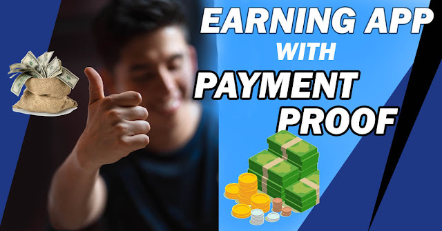 Earning applications with payment proof